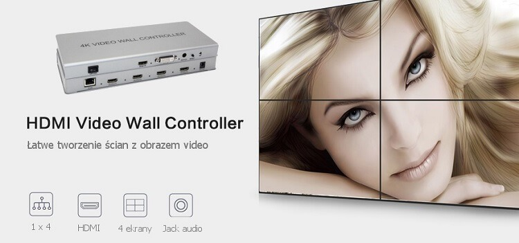 Wall controller – kontroler ściany video Spacetronik  SPH-VW22CIR