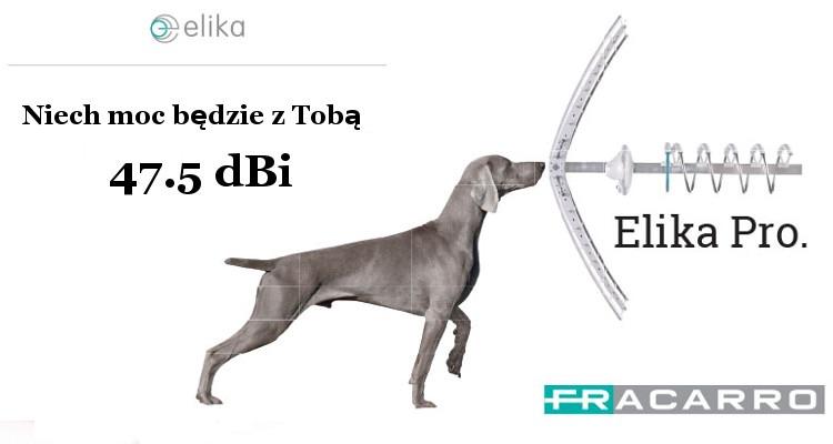 Antena kierunkowa UHF FRACARRO Elika PRO LTE 47,5 dBi