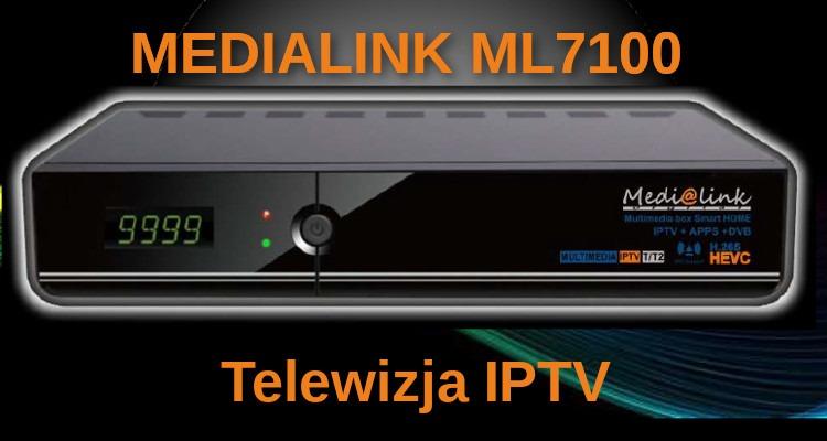 Seria odbiorników Medi@link ML7000, odbiorniki stworzone z myślą o telewizji internetowej IPTV !!!