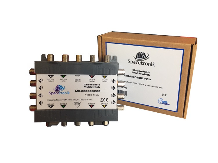Multiswitch kaskadowy Spacetronik MS-050508 PCP