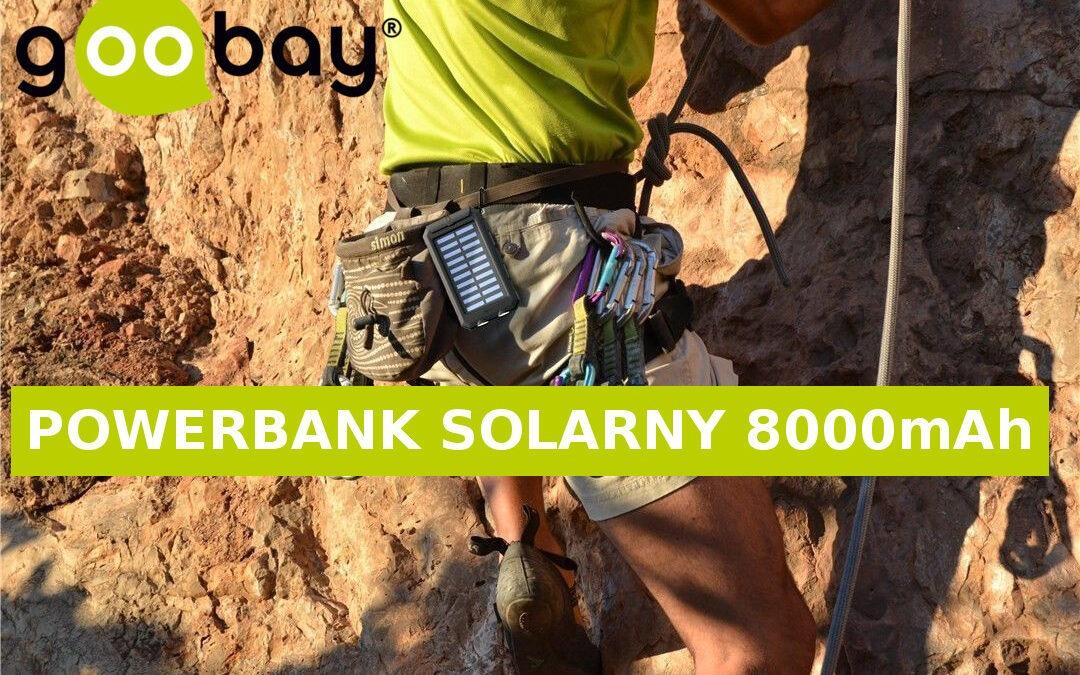 Powerbank Goobay 8000mAh – Nie martw się o brak energii