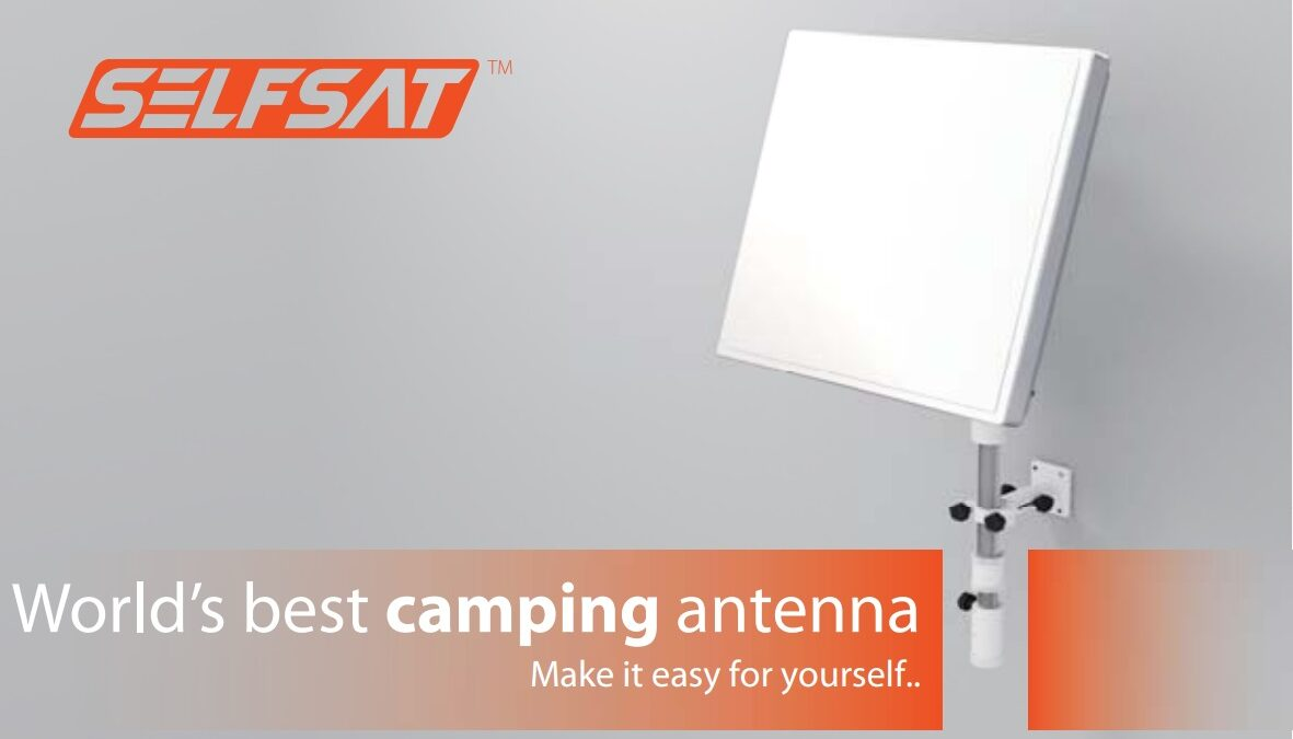 Antena campingowa Selfsat CAMP 38/58
