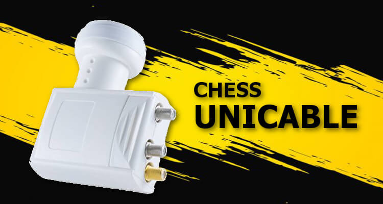 LNB Unicable TWIN Chess 5 edition + TWIN Legacy