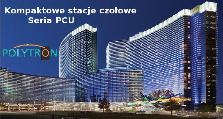 Kompaktowa stacja czołowa z serii PCU firmy Polytron