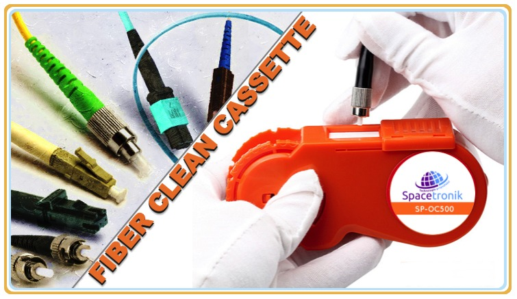 Czyszczenie światłowodów – kaseta do czyszczenia Ferrul SP-OC500