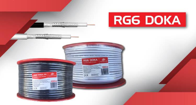 Kabel RG6 DOKA znów w sprzedaży!