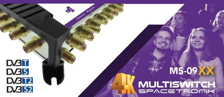 Multiswitch 2xSAT Spacetronik E-Series 8-32