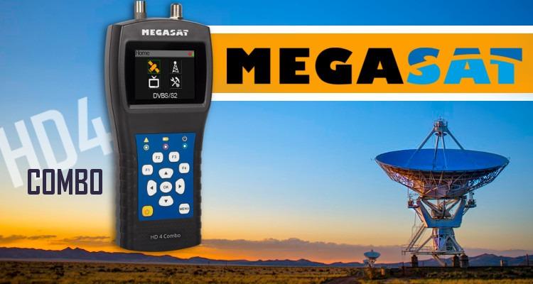 Miernik Megasat HD4 Combo DVB-S/S2/T2/C