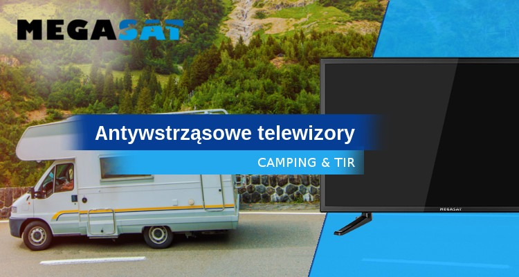 Telewizory antywstrząsowe do zadań specjalnych Megasat