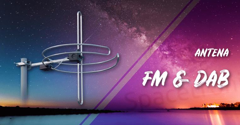 Antena radiowa DAB-FM z sumatorem SPA-DF01 outdoor