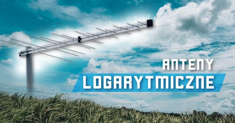 Antena logarytmiczna Spacetronik SPL-FLT32 oraz  SPL-FZ31