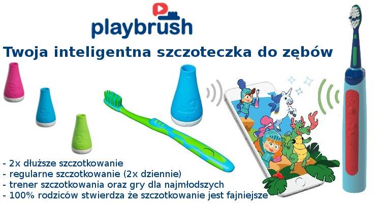 Playbrush Smart inteligentna nakładka i szczoteczka do zębów