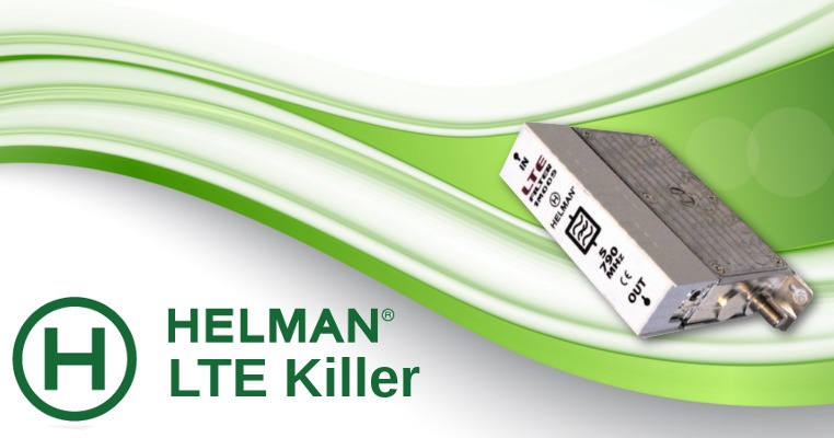Profesjonalny Filtr LTE Killer 4G Helman 1M009 5-790MHz