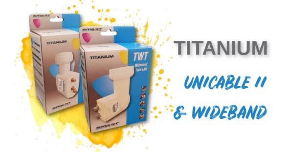 konwerter titanium unicable i wideband firmy SMART