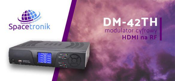 Modulator cyfrowy czterokanałowy Spacetronik DM-42TH