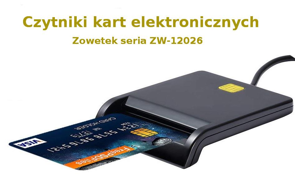 Czytnik kart elektronicznych Zoweetek seria ZW-12026