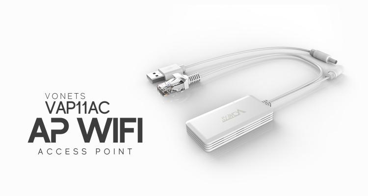VONETS VAP11AC – urządzenie sieciowe 3w1