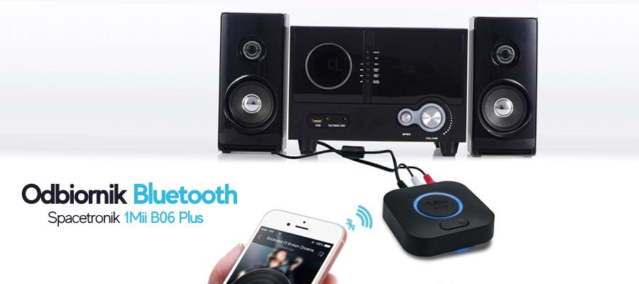 Słuchaj muzyki bezprzewodowo przez odbiornik bluetooth 1Mii B06 Plus