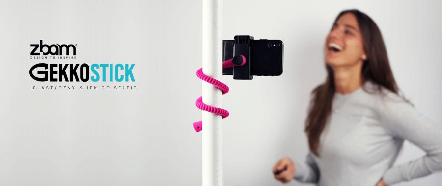 ZBAM Gekkostick – elastyczny kijek do selfie