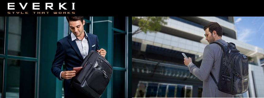 Nowe plecaki EVERKI – nadchodzą świeżości w segmencie premium!
