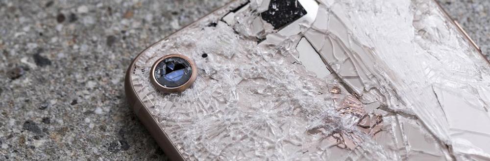 telefon po upadku
