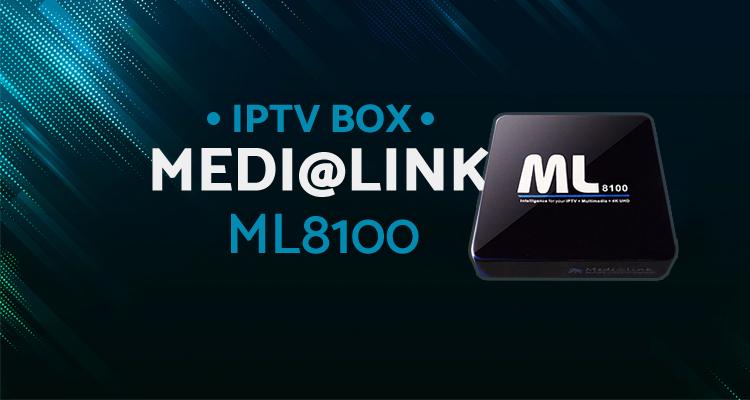 Media Player Medi@link ML8100 nowość na 2019r w odbiorze IPTV w 4K