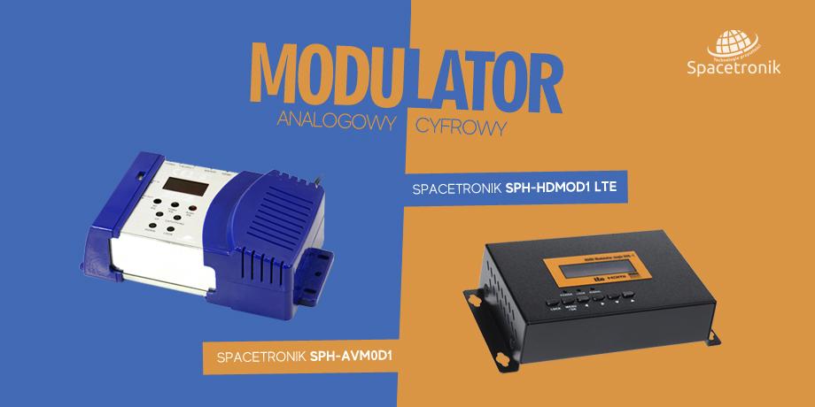 Modulator cyfrowy & analogowy od Spacetronik