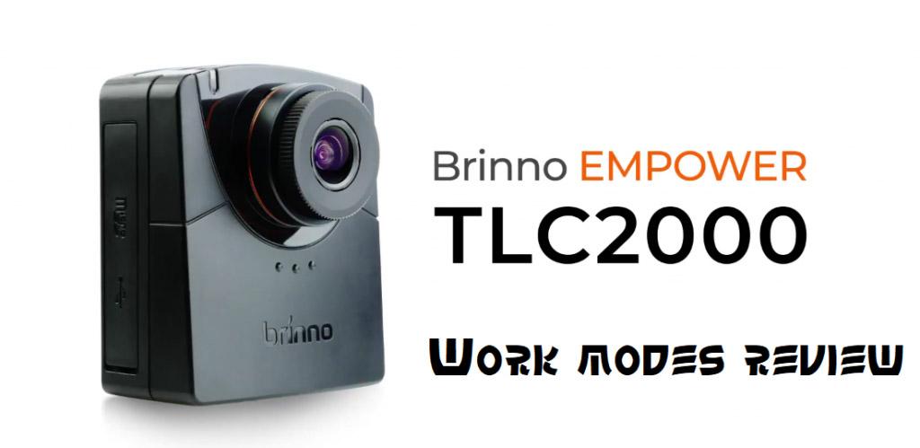 Kamera TLC2000 – przegląd trybów pracy i zastosowanych technologii
