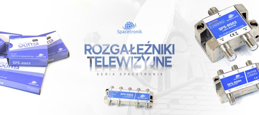 Seria nowych rozgałęźników TV od Spacetronik