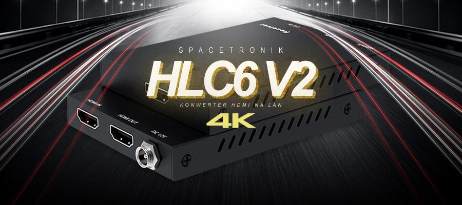 Konwerter HDMI na LAN – Spacetronik HLC6 v2 4K@60Hz