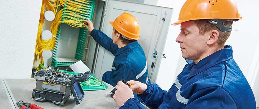 Instalatorzy sieci światłowodowych