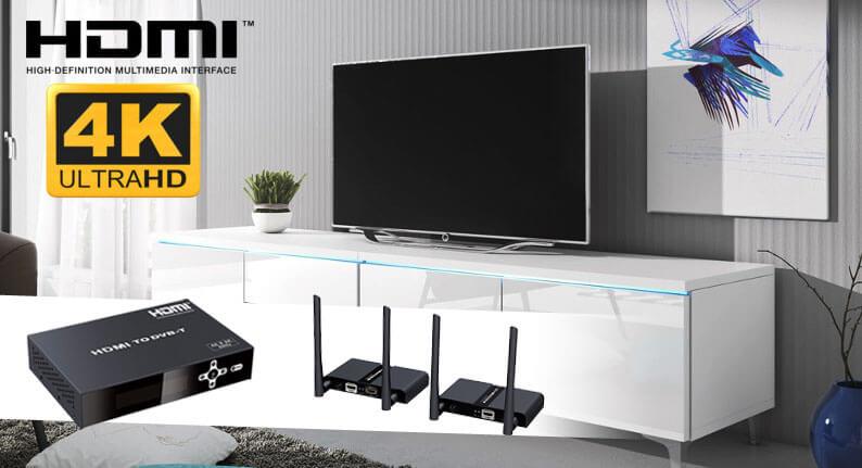 Nowości 4K UHD – modulator i transmisja HDMI po WiFi