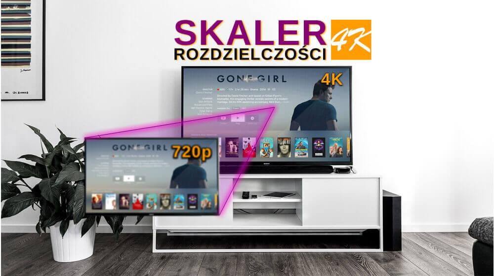 Kontroler ściany Skaler HDMI-HDMI SPH-VS4K-Q