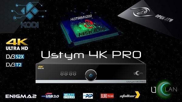 Ustym 4K PRO = Octagon SF8008 Combo