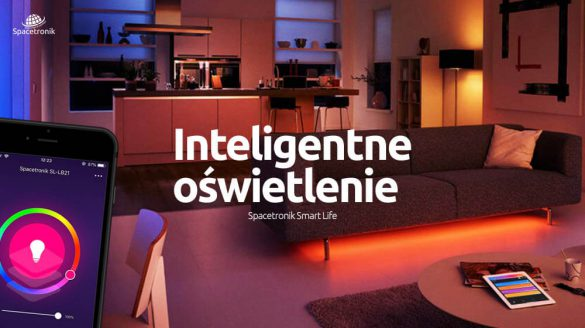 Inteligentne oświetlenie Spacetronik Smart Life