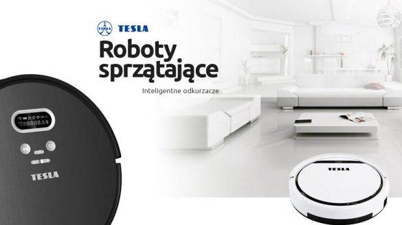 Inteligentne odkurzacze roboty RoboStar TESLA