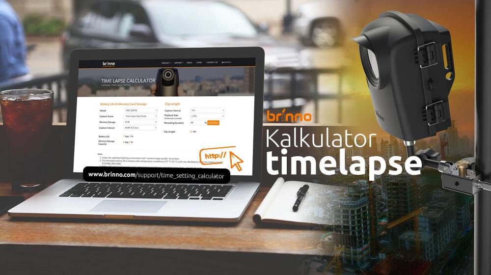 Kalkulator timelapse Brinno – Prognozy dotyczące żywotności baterii i długości klipu