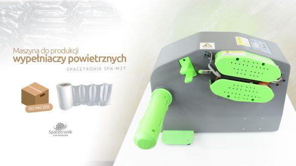 Maszyna do wypełniaczy powietrznych Spacetronik Spa-M2T