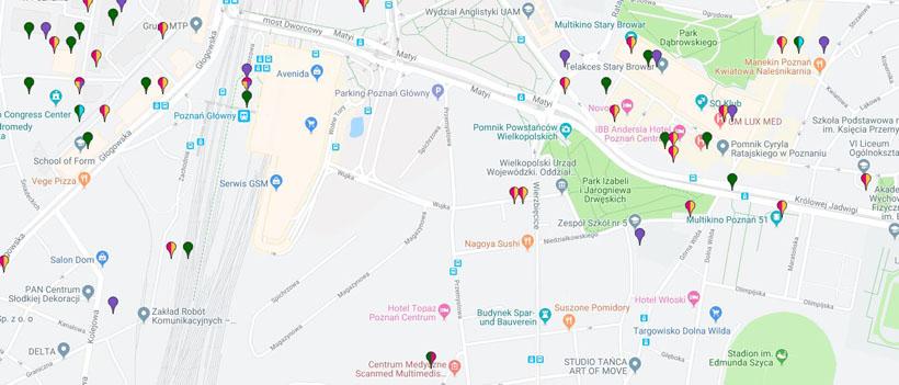 Btsearch lokalizacja nadajników w Polsce