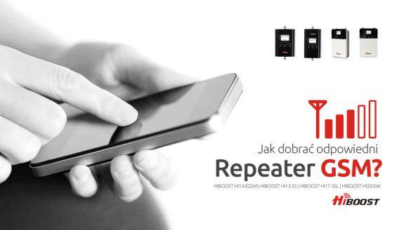 Huaptec Hiboost wzmacniacz GSM repeater