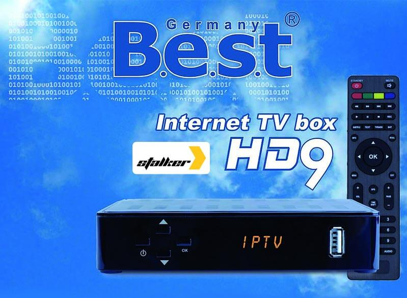 BEST HD9 – wydajny i solidny tuner IPTV ze Stalker Playerem i obsługą M3U