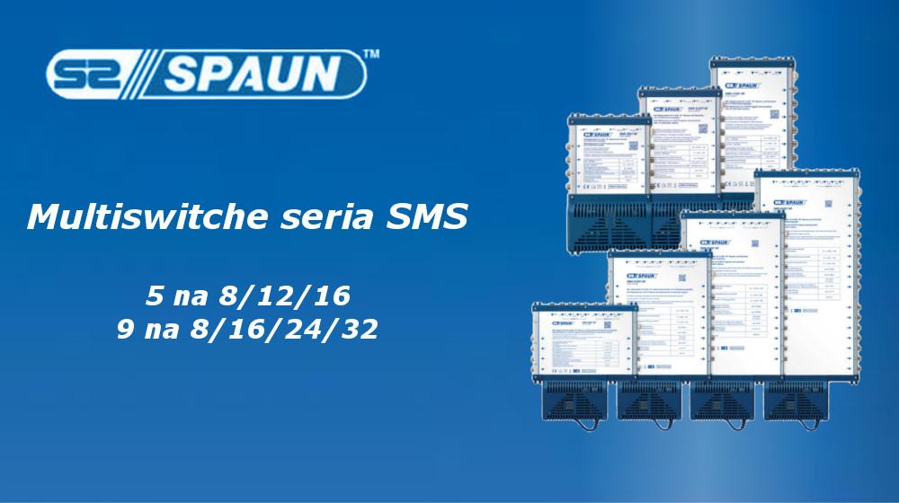 Prosty i niezawodny multiswitch Spaun z serii SMS