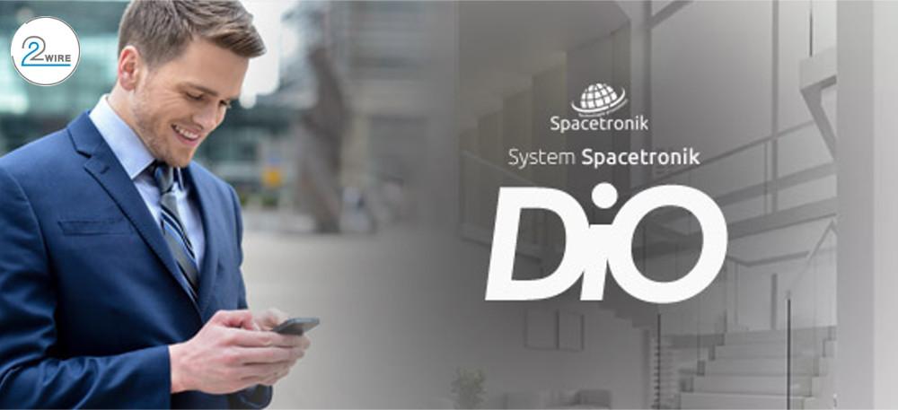 Wideodomofon cyfrowy dwuprzewodowy Spacetronik DiO
