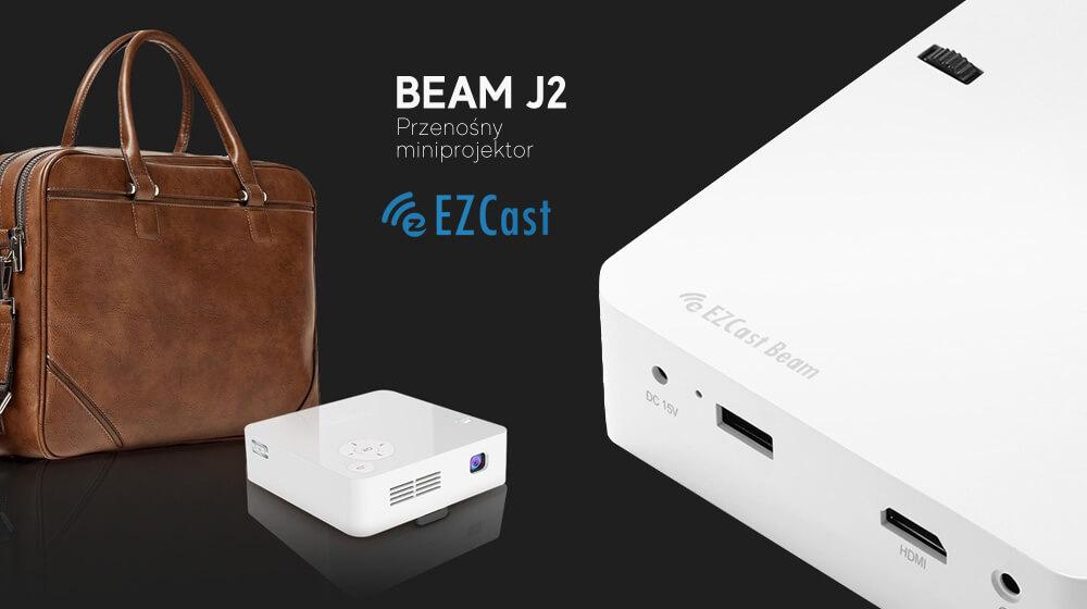 Przenośny miniprojektor EZCast Beam J2