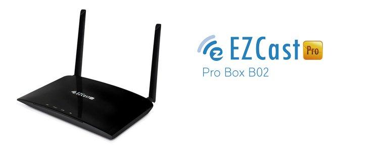 Obraz ze smartfona i komputera na TV – EZCast Pro Box B02