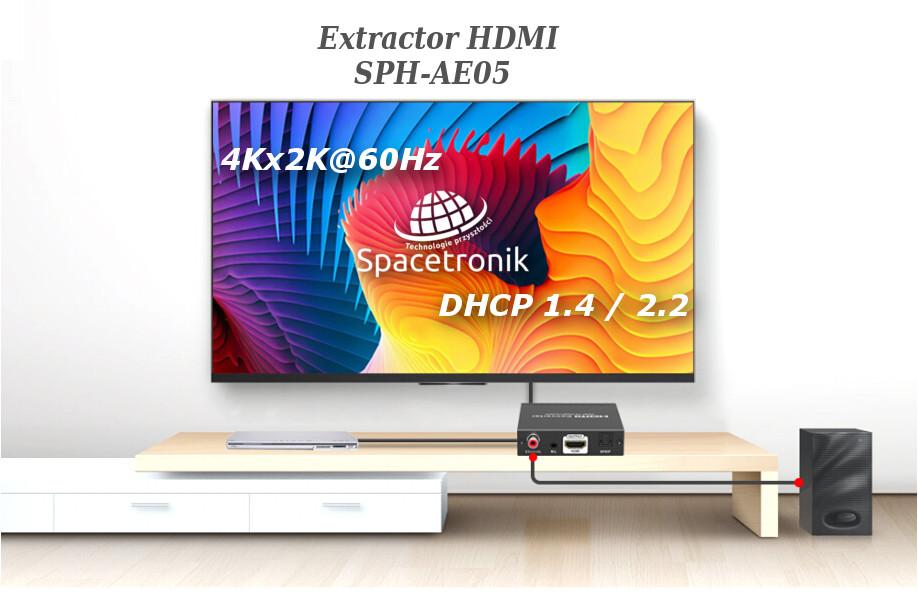 Extractor HDMI SPH-AE05 – nowość w pełnym wymiarze 4K
