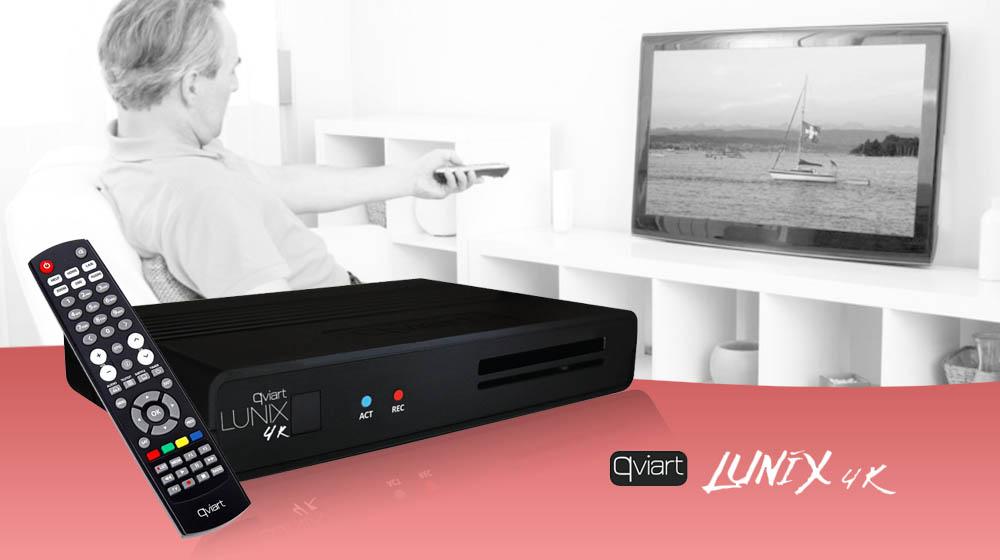 Dekoder linux którego trzeba sprawdzić! LUNIX 4K TWIN TUNER DVB-S2X H.265 CI+