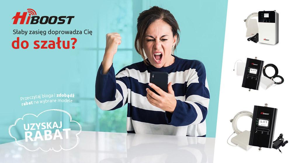 Popraw zasięg sieci GSM z HiBoost – Rabat dla każdego
