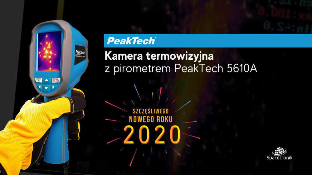 Kamera termowizyjna z pirometrem PeakTech 5610A