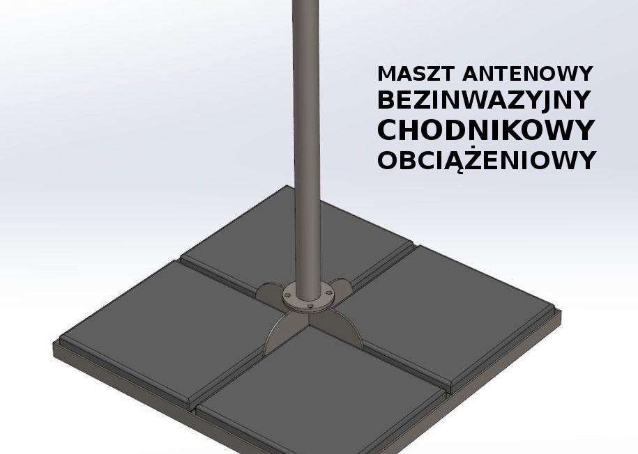 Maszty Chess Holland – idealne gdy anteny nie można przytwierdzić na stałe…